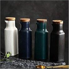 Distributeur de vinaigre, 4 pièces en céramique
