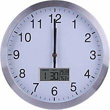 Dittzz 30cm Horloge Murale Radio Pilotée Ultra