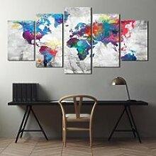 DIXS-478 Peinture sur toile moderne, affiche