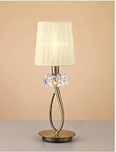 Diyas - Lampe de Table Loewe 1 Ampoule E14 Small,