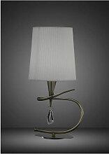 Diyas - Lampe de Table Mara 1 Ampoule E14 Small,