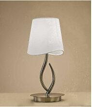 Diyas - Lampe de Table Ninette 1 Ampoule E14