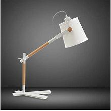 Diyas - Lampe de Table Nordica avec Abat jour