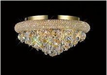 Diyas - Plafonnier Alexetra 6 Ampoules