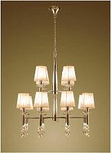 Diyas - Suspension Tiffany 2 Tier 12+12 Ampoules