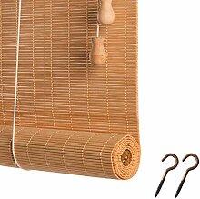 DIYH Rideau en Bambou Store Enrouleur Rétro -