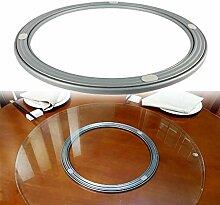 DIYH Roulement De Table en Métal 30cm 60cm -