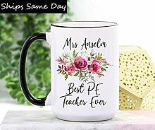 DKISEE Tasse à café et thé pour professeur -