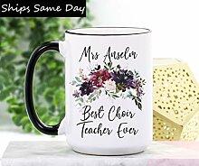DKISEE Tasse à café ou thé pour professeur de