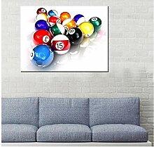 DLFALG Tennis de table coloré boule de billard
