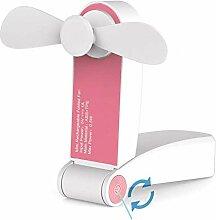 Dnieheic Mini ventilateur portable et rechargeable