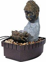 dobar Fontaine d'intérieur Bouddha Gris
