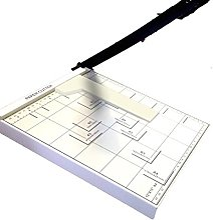 DOBO Coupe-papier à levier professionnel pour A4,