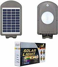DOBO Lampadaire LED solaire d'extérieur avec