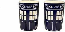 Doctor Who Tardis Salière et poivrière