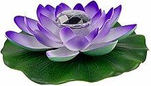 Doherty Lotus artificiel flottant - LED étanche -