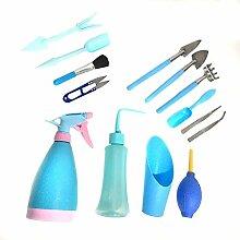 Doinh Lot de 14 mini outils de jardinage - 14