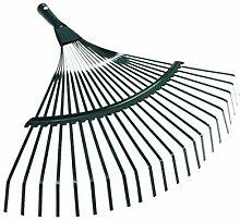 Doitool - Râteau de jardin en métal - Outil de