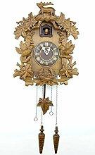 DongSheng Horloge de Chalet de la Forêt Noire,