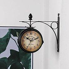 dongshi Horloge Murale Européenne Horloge Horloge