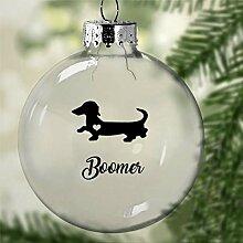 DONL9BAUER Boules de Noël Teckel pour arbre de