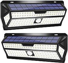 DOOK Lampe Solaire Extérieur, 132 LED Lumière