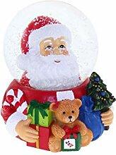 Dorex Boule Noël Sainte, Verre, Rouge Blanc