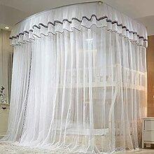 Dortoir Accueil Bunk Nets Lit Rideaux Respirables