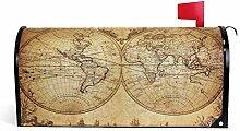 DOSHINE Boîte aux Lettres magnétique avec Carte