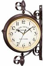 Double Face Horloges, Horloge de Gare rétro