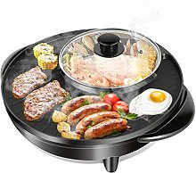 Double faitout pour barbecue et hot pot, marmite