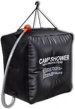 Douche solaire de camping et voyage 40 L