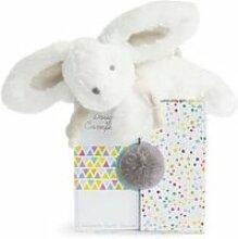 Doudou et compagnie-coucou doudou - lapin perle