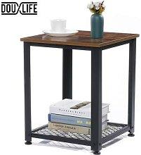 Douxlife – Table basse industrielle à 2