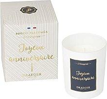 Draeger Paris - Bougie Cadeau - Joyeux Anniversaire