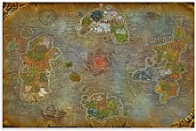 DRAGON VINES WoW World of Warcraft Poster imprimé