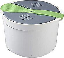 Dramir Cuiseur à riz au micro-ondes, cuiseur à