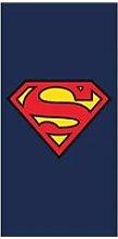 Drap de bain superman serviette plage piscine