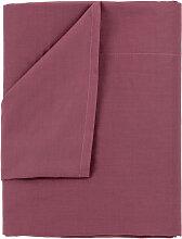 Drap de dessus, 100% coton couleur Violet.