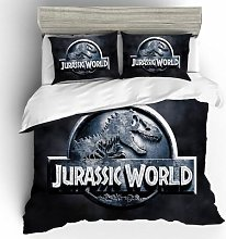 Drap de lit imprimé Jurassic Park, housse de