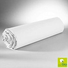 Drap Housse Blanc 160x200 C Design Home Textile