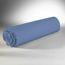 Drap Housse Bleu 160x200 823017 - C Design Home