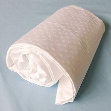 Drap-housse king size jacquard blanc, Dimension