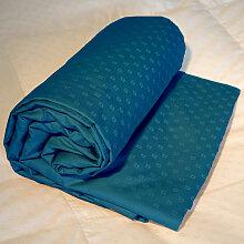 Drap-housse king size jacquard bleu, Dimension
