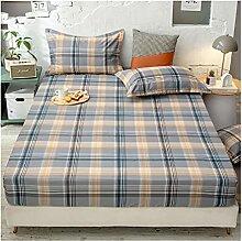 Drap-Housse pour Matelas Drap de lit Coton 1/2