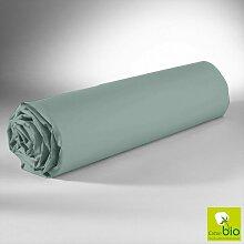 Drap Housse Vert 140x200 C Design Home Textile