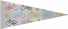 Drapeau de bannière drôle drapeau rétro vélo