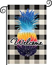 Drapeau de jardin « Welcome Hello Summer » -