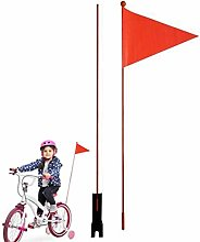 Drapeau de sécurité de vélo Fanions De Vélo