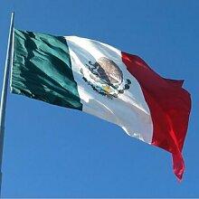 Drapeau du mexique en Polyester 3x5 pieds,
